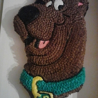 Scooby Doo Scooby Doo cake for Lucas