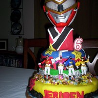 Power Rangers Cake For Great Grandson power rangers cake for great grandson