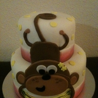 Monkey My version of Macsmom's lovely monkey cake. All fondant. Any comments or suggestions are welcomed. TFL :-)