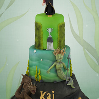 Harry Potter And The Goblet Of Fire Baset on a cake by Janette MacPherson Cake Craft :D x