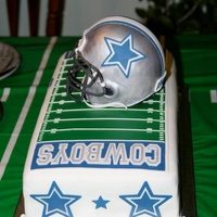 Dallas Cowboys 16Th Birthday Cake
