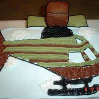 Helicopter Cake This isn't my best work and I don't really like how it turned out, but my son loved it for his 4th birthday anyway.