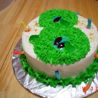 8Th Birthday Cake I made this for a church service auction. The lady who won the cake said to just do a big 8 for her son's birthday. How boring! I...