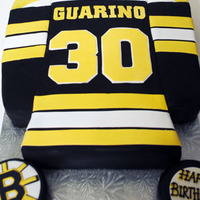 Bruins Cake For A 30Th Birthday Cake Carved Into Shirt Shape And Covered In Fondant All Hand Cut Letters And Number 30 Loved This Cake Bruins cake for a 30th birthday, Cake carved into shirt shape and covered in fondant. All hand cut letters and number 30. LOVED this Cake...