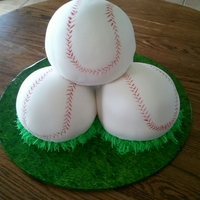 Stacked Baseballs