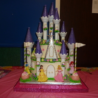 Disney Princess Castle Cake Disney Princess Castle Cake