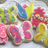 Spring/mother's Day Sugar Cookies