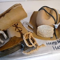 Sweet 16 For A Country Boy   Western line dance sweet 16 party! all covered in fondant.