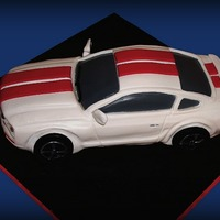 2006 Mustang Gt A friends birthday, replicate of her baby.Thanks for looking (""