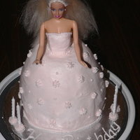 Barbie Cake This is the first cake I did after completing my Wilton Cake Decorating Class I. Idea inspired by other doll cakes on this site. All...