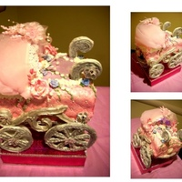 Baby Buggy Inspired By Rosebud Cakes 95 Edible Baby buggy inspired by Rosebud Cakes. 95% edible.