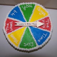 50Th Birthday Cake Wheel of Time Birthday cake. It's been a little over a year since I've had the privilege of baking and decorating a cake for...
