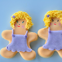Twins   Sugar Cookies with royal icing