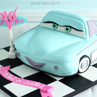 My 40Th Birthday Cake Its Flo Fro Cars The Movie My 40th birthday cake - it's Flo fro Cars the movie!