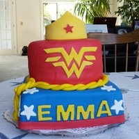 Got The Idea From Some Other Cakes Online Wonder Woman Theme For Emmas 6Th Birthday August 11 And Her Brother Who Turned 1 One August 9 Got the idea from some other cakes online. Wonder Woman theme for Emma's 6th Birthday. August 11 and her brother who turned 1 one...