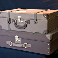Full Size Suitcases   Fondant with gumpaste accents
