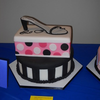 Shoes  This was also an entry in the 2011 Icing on the Cake competition in Shreveport. This one was also in the theme category (kick your heels up...
