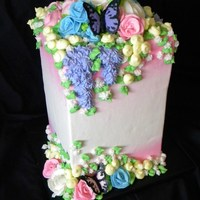 Flowers Etc this cake is 3 tier all buttercream