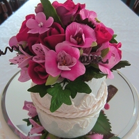 Alstroemeria And Roses