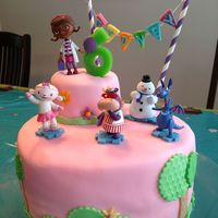 Doc Mcstuffins Cake For My 6 Year Old She Loved Doc McStuffins cake for my 6-year-old. She loved !!