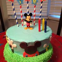 Mickey Mouse Clubhouse Mickey Mouse Clubhouse Cake for my daughter's 3rd birthday.