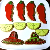 Cinco De Mayo Sugar Cookies Sugar cookies decorated with Royal Icing