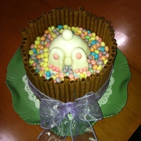 Easter Bunny As inspired by my friends at Cake Central.....Thank you!