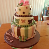 My First Topsy Turvy Baby Shower Cake It Is A Vanilla Cake With Strawberry Filling This Is A French Vainilla Buttercream Icing The Decora My first Topsy Turvy baby shower cake. It is a vanilla cake with strawberry filling. This is a French vainilla buttercream icing. The...