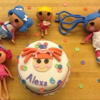 Lalaloopsy Made this cake for my daughter.