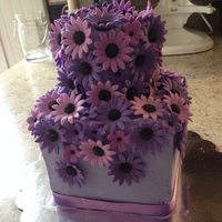 Purple Daisy Cake TFL