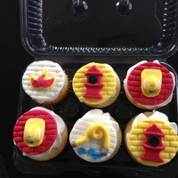 Firefighter Cupcakes TFL