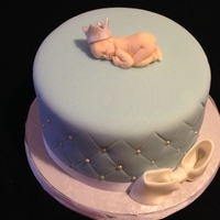 Baby Boy Baby Shower Cake. TFL