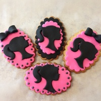 Barbie Black/pink Cookies TFL