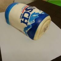 Busch Beer Can Cake