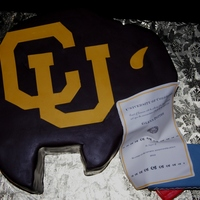"Carved From A 14 Square To Represent Ralphie The University Of Colorados Mascot Chocolate Fudge Cake Layered With Dark Chocolate Butter Carved from a 14"" square to represent Ralphie, the University of Colorado's mascot. Chocolate fudge cake layered with dark..."