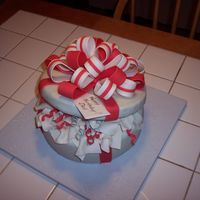 Dad's 71St B-Day Cake Dad's present - in Ohio State colors