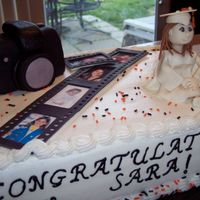 Sara's Graduation Cake Camera is RKT covered in MMF. Filmstrip and figure are made from MMF. Made the figure's face from following aine2's tutorial on...