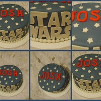 Star Wars Daughter sent me this pic for this cake. WASC with fondant. They took the cake from Al. to So. Carolina!