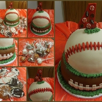 Sports Tier Football & Baseball are WASC and we had sports cookies and cake pops to match! Loved doing this one!