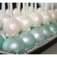 Sea Shell Cake Pops