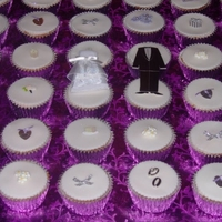 Bridal Shower Cupcakes for a friends Bridal Shower.