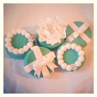 Tiffany Themed Chocolate Covered Oreos *