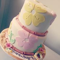 Luau Baby Shower Cake *