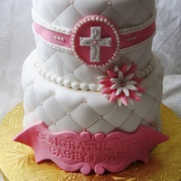 Quilted Confirmation Cake Quilted Confirmation Cake