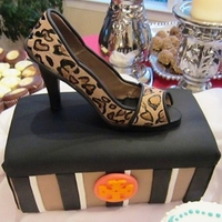 Tory Burch Leopard Print Stiletto