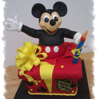 Mickey Mouse Birthday Cake I haven't posted for some time so I'm trying to play catch up. I made this Mickey Mouse cake for a litte boy's birthday. I...