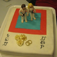 Wedding For Karate Couple