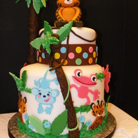 Fisher Price Baby Shower Cake Inspirations from peggydoescakes w/ a twist of my own