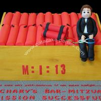 Mission Impossible Bar Mitzvah Cake