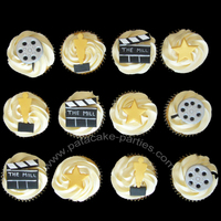 Movie Awards Cupcakes 6 dozen cupcakes for an Oscars event, delivered to central London yesterday. 4 dozen were vanilla sponge with vanilla buttercream; 2 dozen...